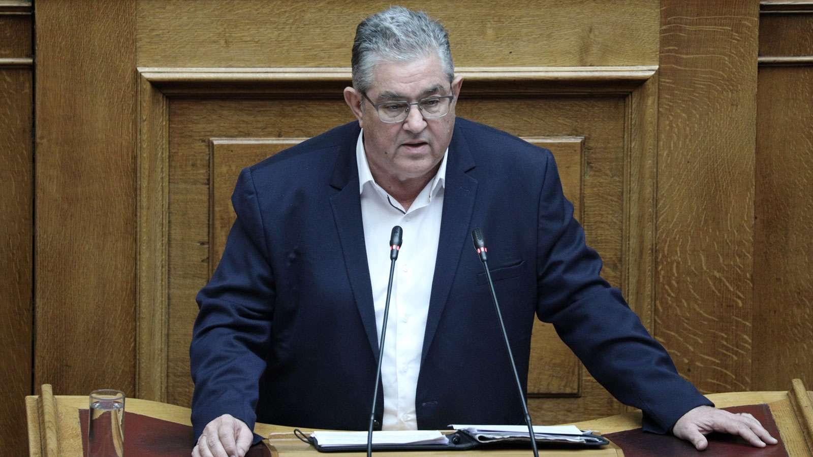 Ομιλία του ΓΓ της ΚΕ του ΚΚΕ Δημήτρη Κουτσούμπα στην Ολομέλεια της Βουλής για την κύρωση των ΠΝΠ για τα υγειονομικά μέτρα αντιμετώπισης της κρίσης του κορωνοϊού