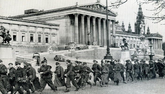 liberation of vienna red army 1945