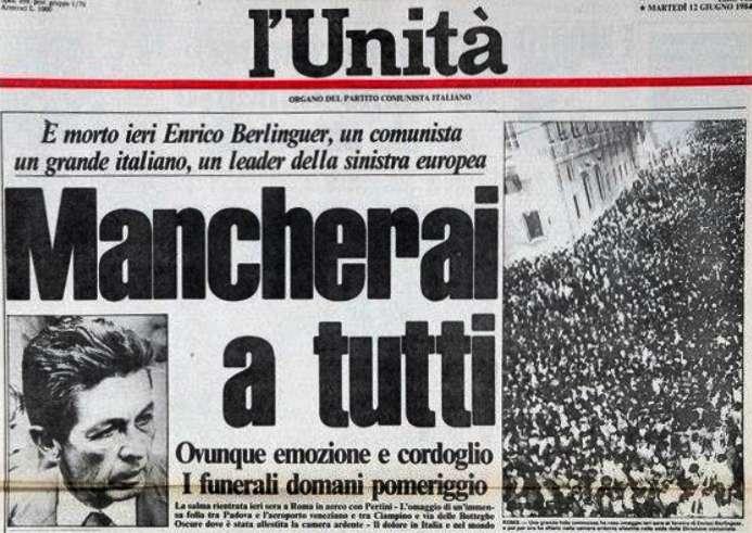 Berlinguer morto