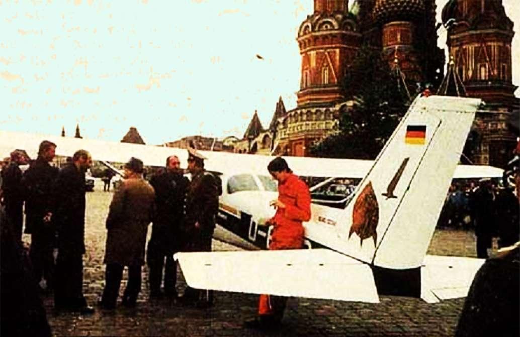 Cessna Сессна 172 Κόκκινη Πλατεία 1987