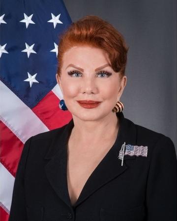 Georgette Mosbacher official portrait