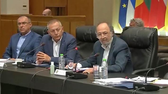Βουλευτές ΚΚΕ Επιτροπή Άμυνας και Εξωτερικών υποθέσεων Βουλής
