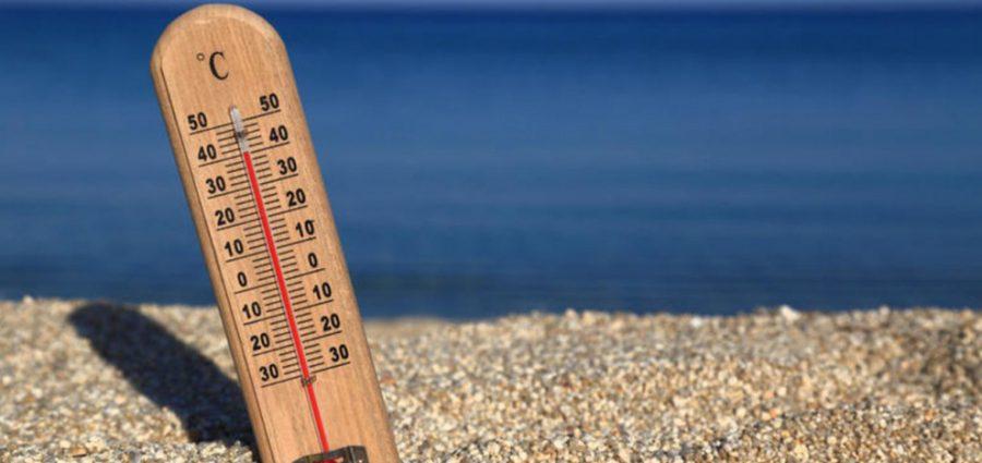 Στους 41 βαθμούς η μέγιστη θερμοκρασία σήμερα -Nέα τοπικά θερμοκρασιακά ρεκόρ