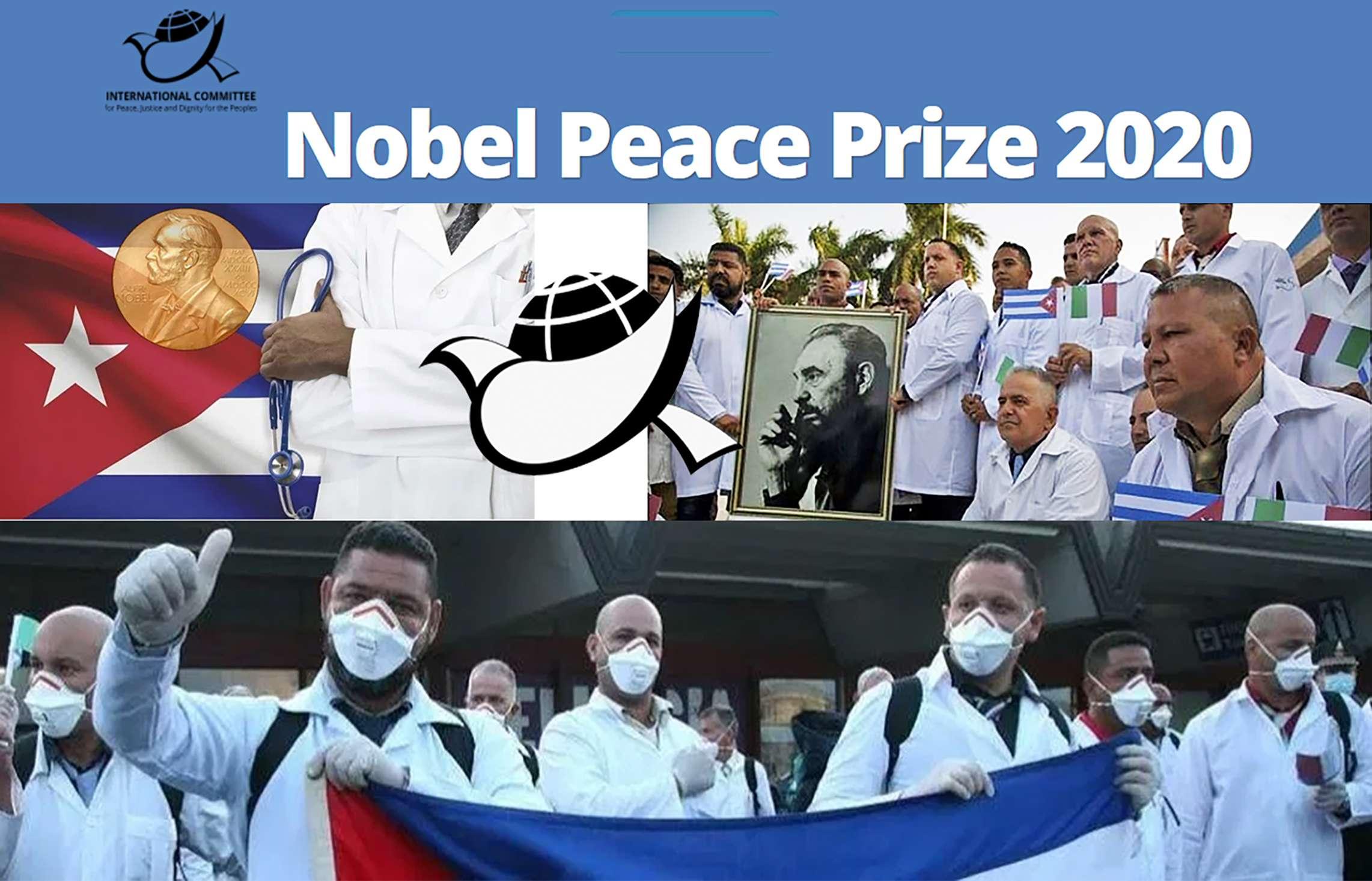 ιατρικές ταξιαρχίες Υποψηφιότητα για το βραβείο Νόμπελ Ειρήνης 2020