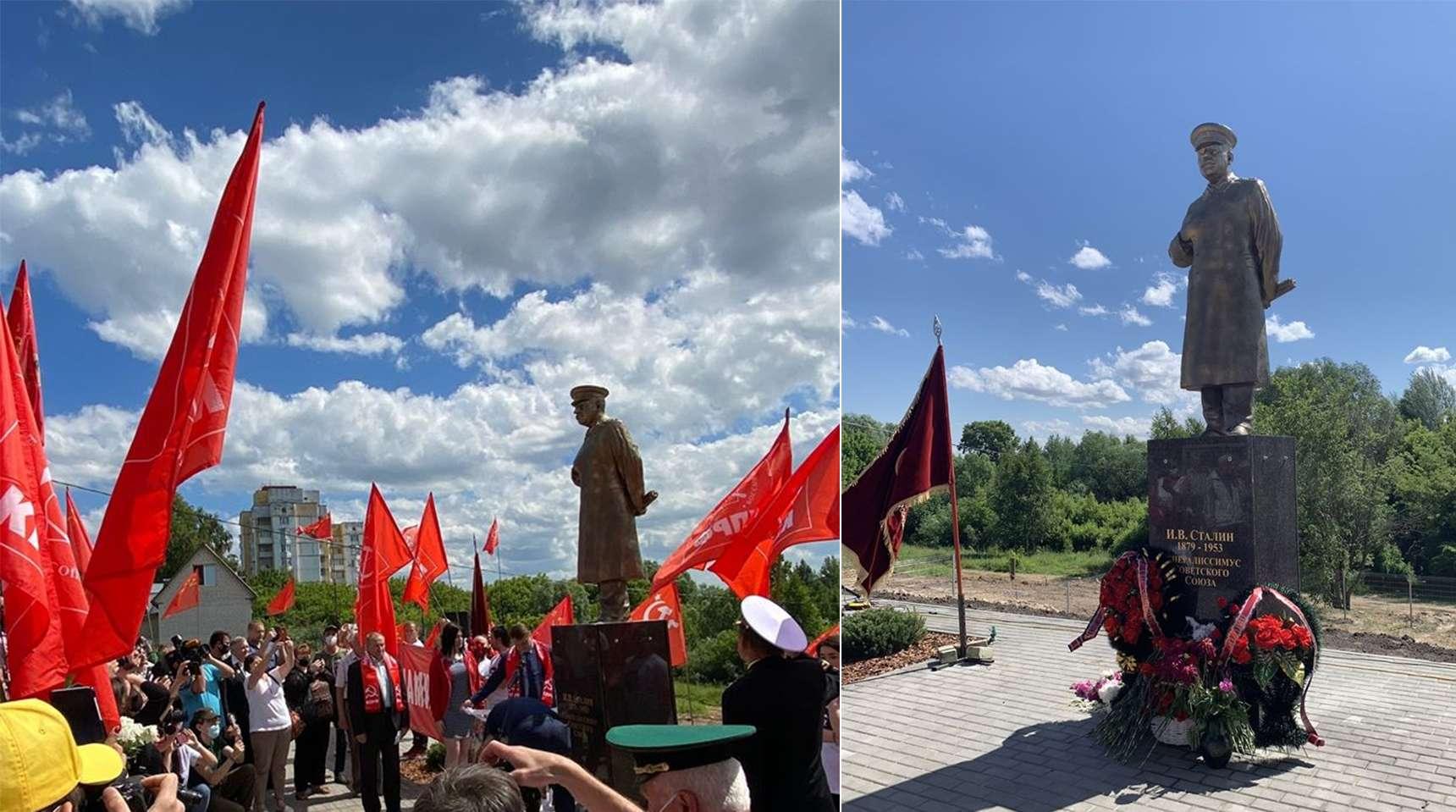 Μνημείο Στάλιν Νίζνι Νόβγκοροντ Nizhny Novgorod