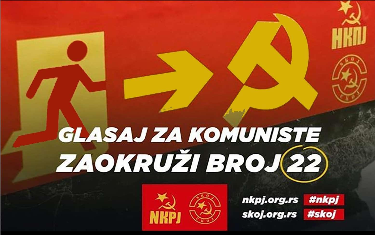 Νέο Κομμουνιστικό Κόμμα Γιουγκοσλαβίας NKPJ