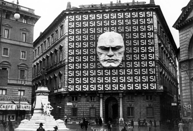 αρχηγείο του Μουσολίνι στη Ρώμη 1934