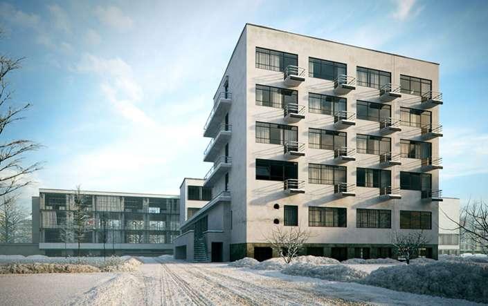 Bauhaus κτήριο 1