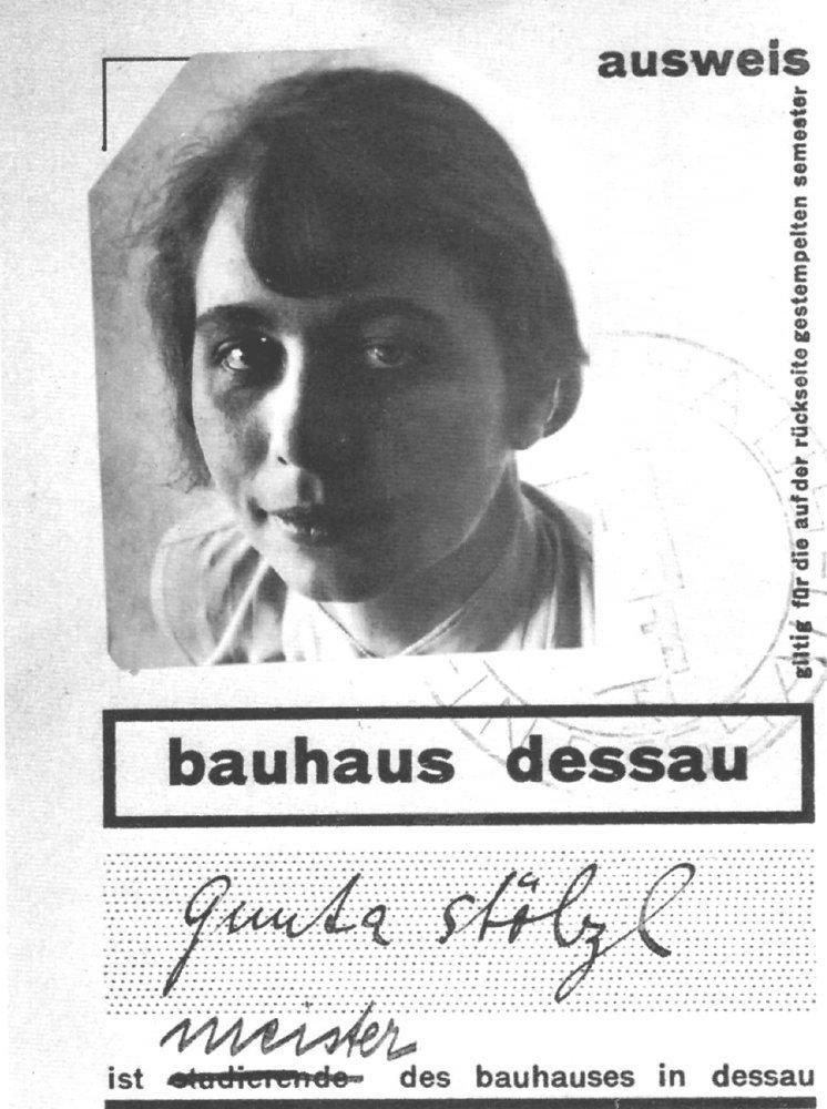 Bauhaus Gunta Stölzl.