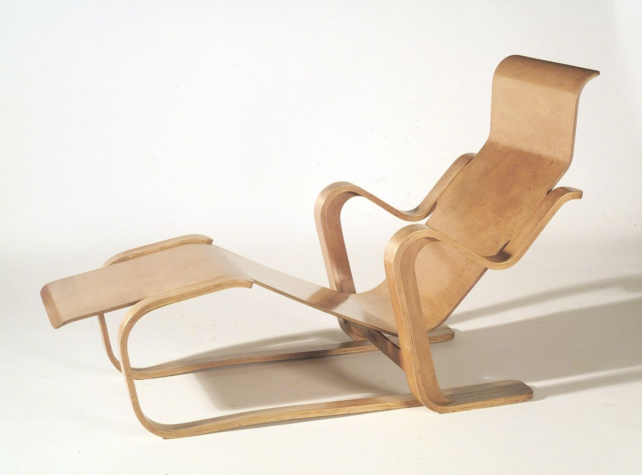 Marcel Breuer Long Chair 1935 1936 Brooklyn Museum