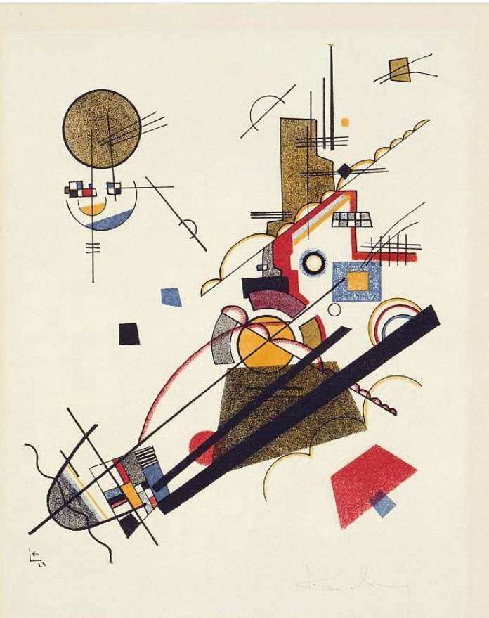 Wassily Kandinsky Joyful Arising