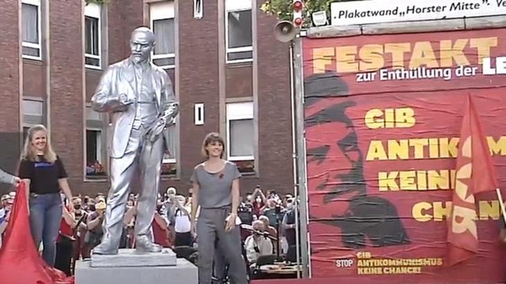 άγαλμα Λένιν Γκελζενκίρχεν