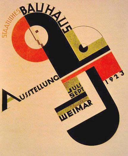 bauhaus Αφίσα από την έκθεση Bauhaus το 1923 στην Weimar