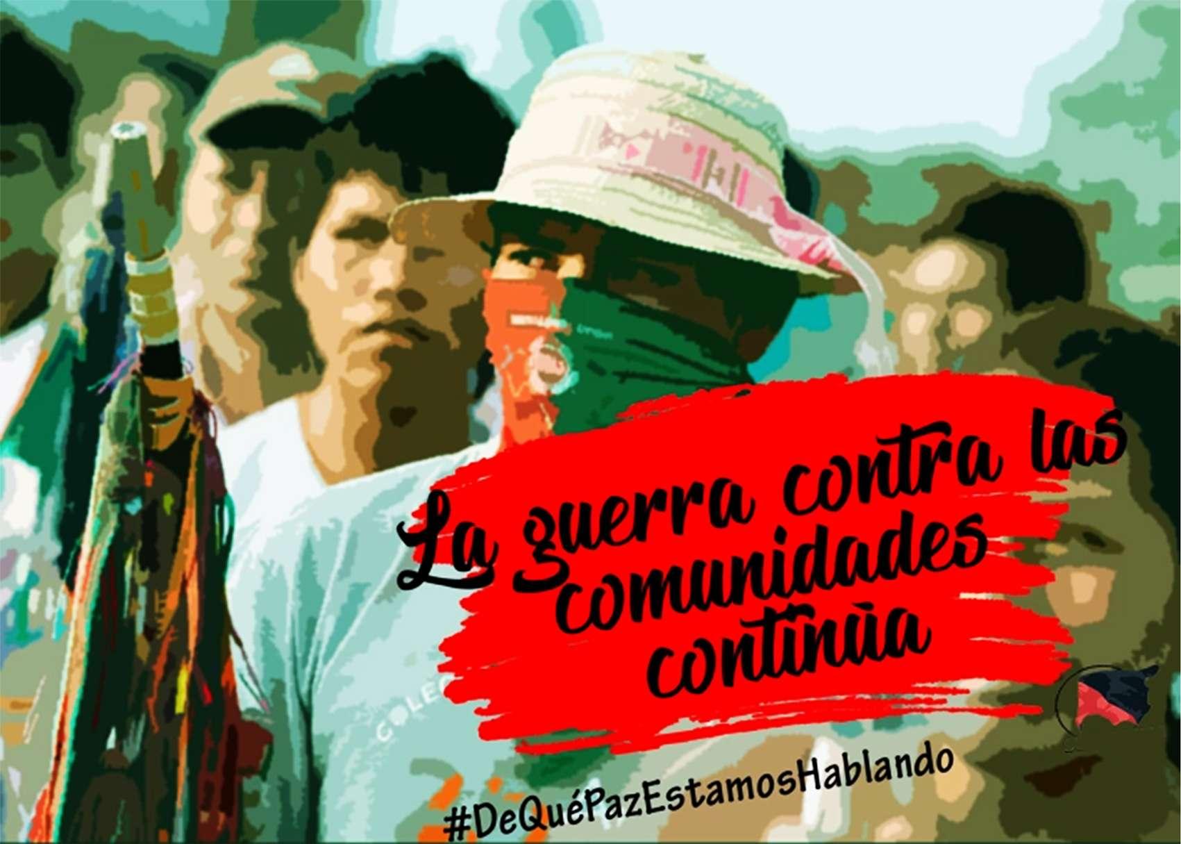 comunero indígena Colombia
