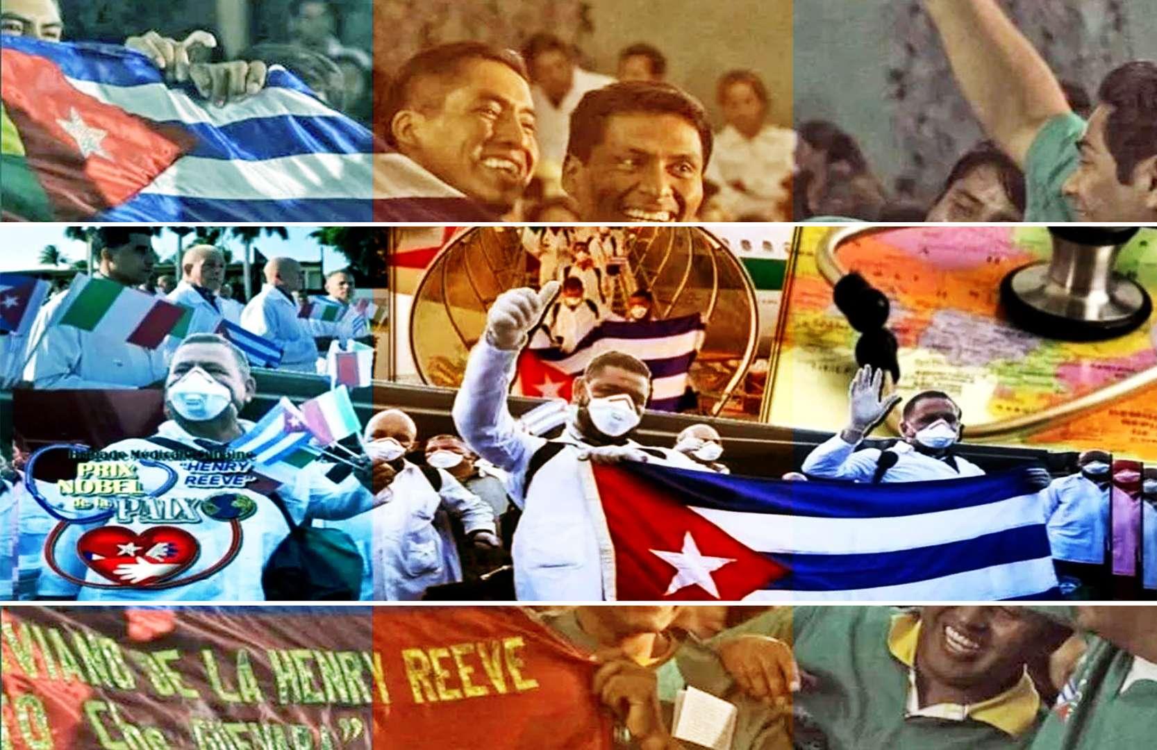 πρωτοβουλία απονομή βραβείου Νόμπελ Ειρήνης στους Γιατρούς της Κούβας