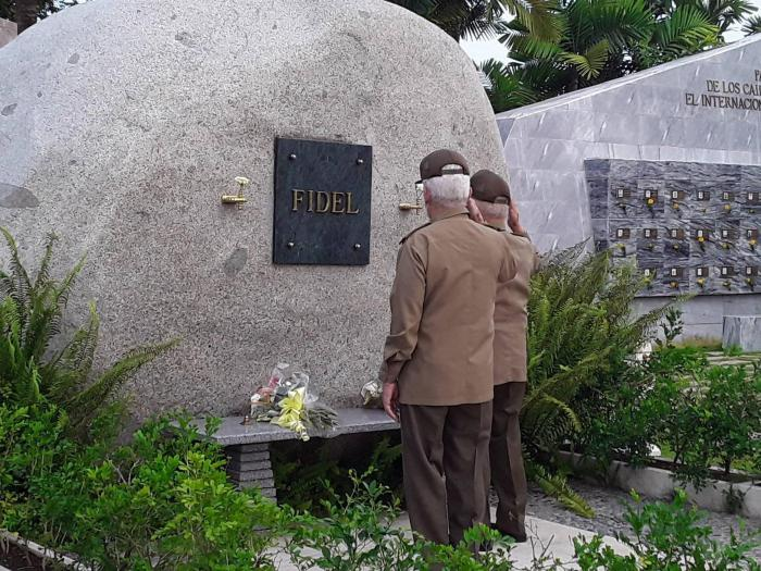 2020 Fidel Raúl Castro y Díaz Canel