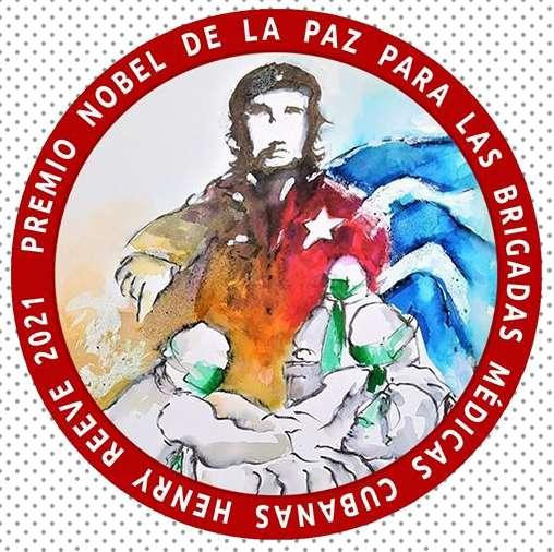 Νόμπελ στους γιατρούς της Κούβας nobel prize for the doctors of Cuba 2021 logo