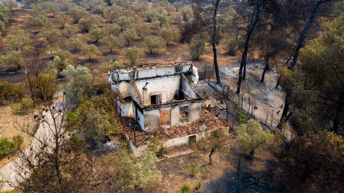 Πυρκαγιά Κεχριές