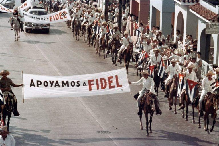 Apoyamos a Fidel La Habana 26 de julio de 1959
