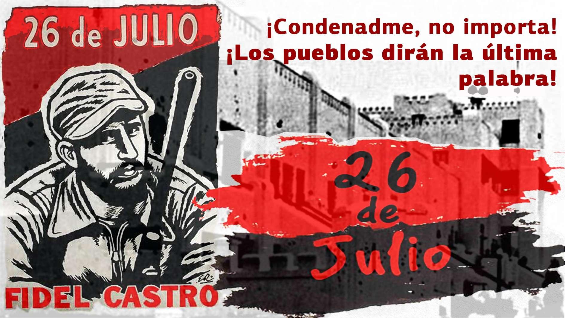 Fidel Castro ¡Condenadme no importa ¡Los pueblos dirán la última palabra
