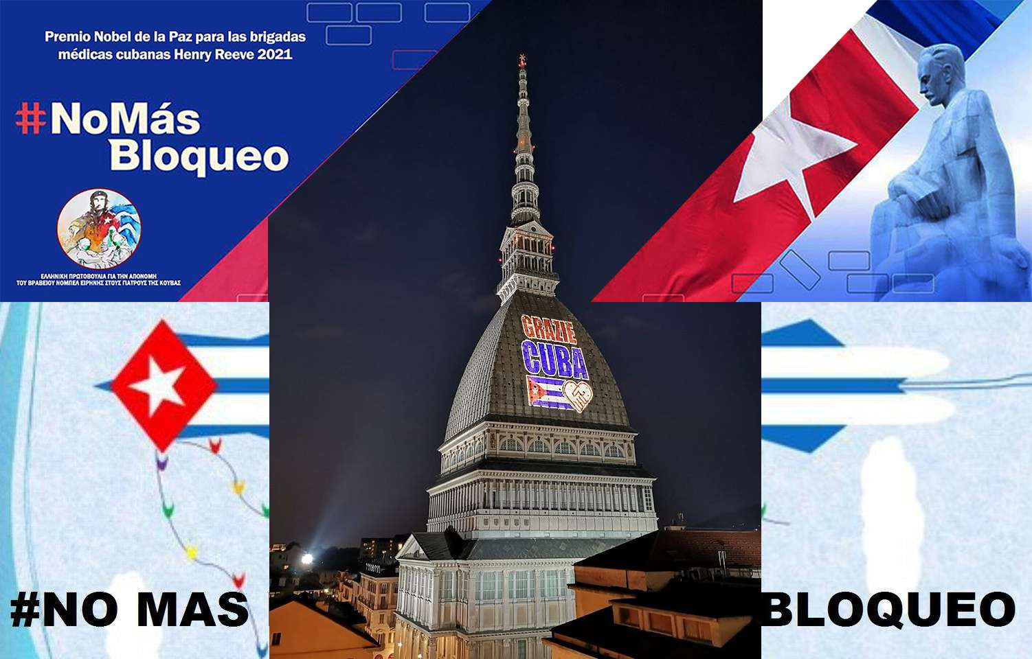 Mole Antonelliana Torino Cuba grazie bigada HenryReeve