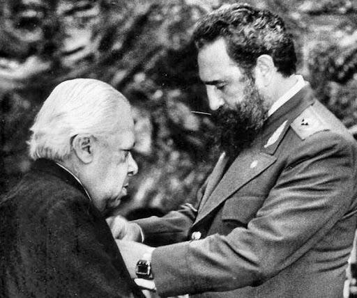 Nicolás Guillén+Fidel