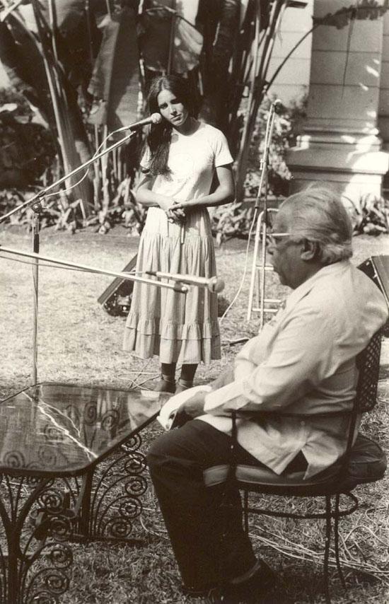 nicolas guillen con ana belen uneac 1980