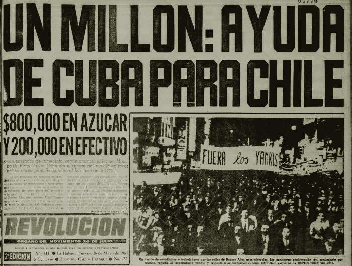 terremoto 22 de mayo 1960 en Valdivia Chile
