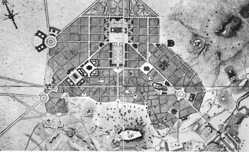 Αθήνα σχέδιο Κλεάνθη Σάουμπερτ 1