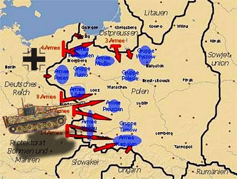 Γερμανία Συμφωνία Μονάχου επίθεση Πολωνία