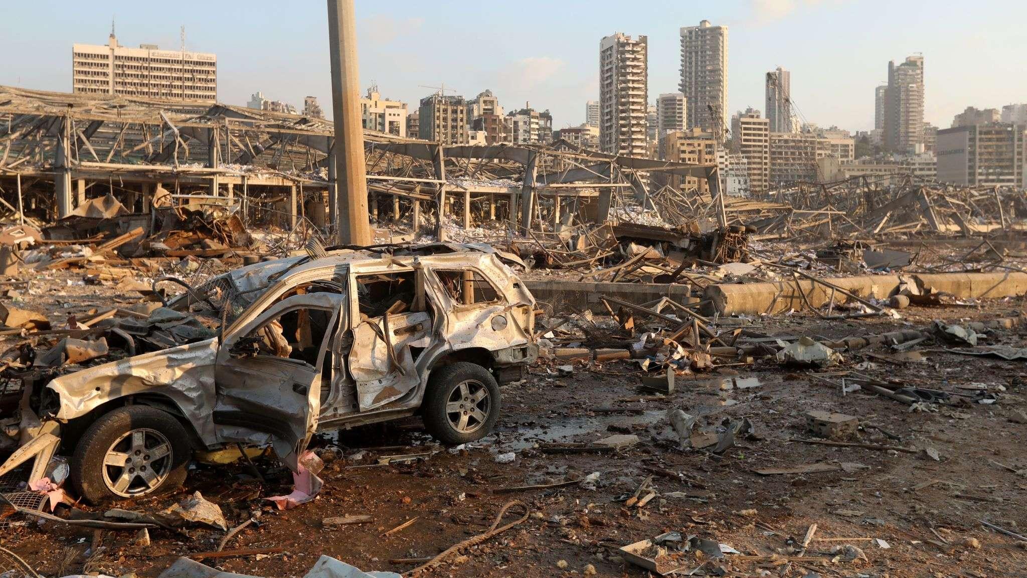 Λίβανος beirut 4 Αυγ 2020