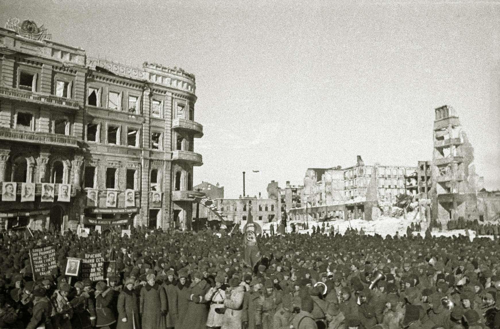 Στάλινγκραντ Сталинградская битва 8