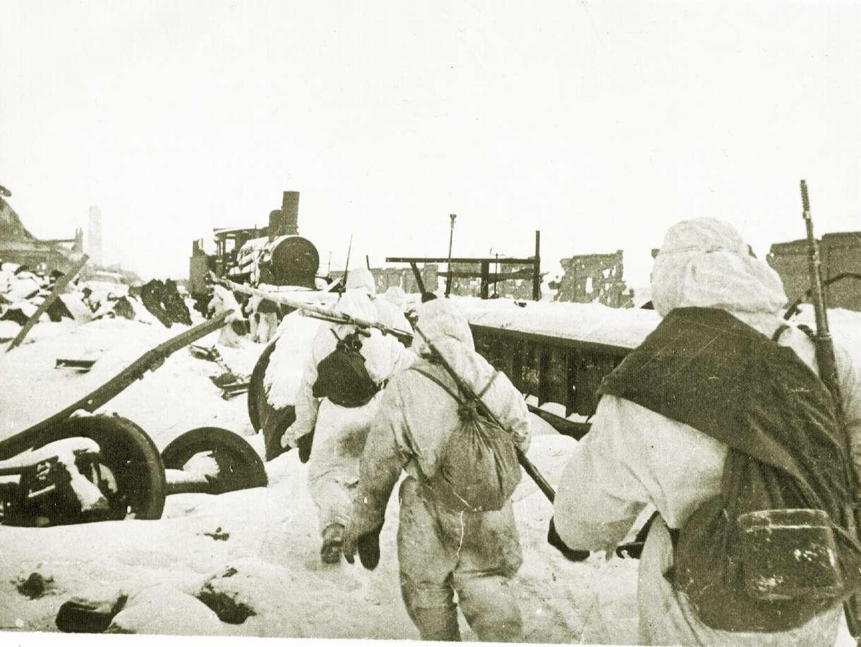 Στάλινγκραντ Сталинградская битва 9