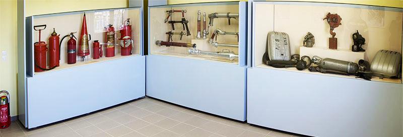Μουσείο Πυροσβεστικά εργαλεία κι εξαρτήματα φωτογραφικό υλικό