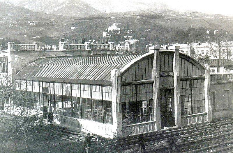 о киностудии на севастопольской στούντιο A. Khanzhonkov στη Γιάλτα 1918 1919