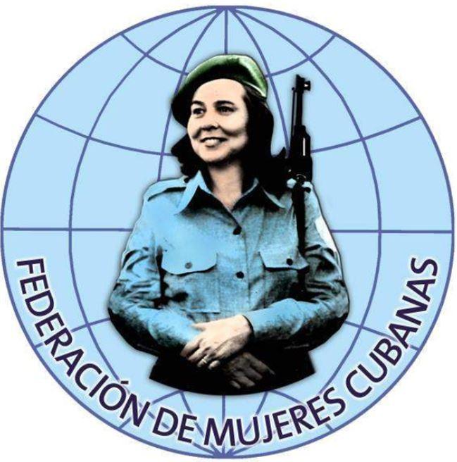 Federación de Mujeres Cubanas FMC logo