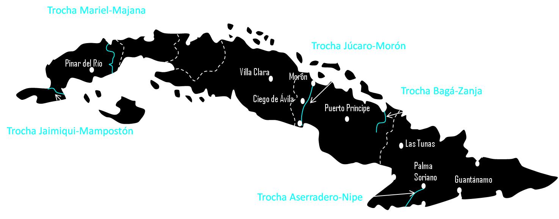 Trochas Cuba