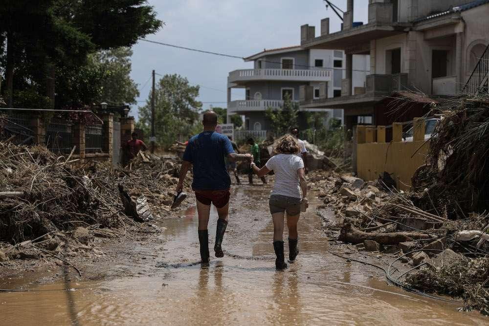 Πλημμύρες Εύβοια