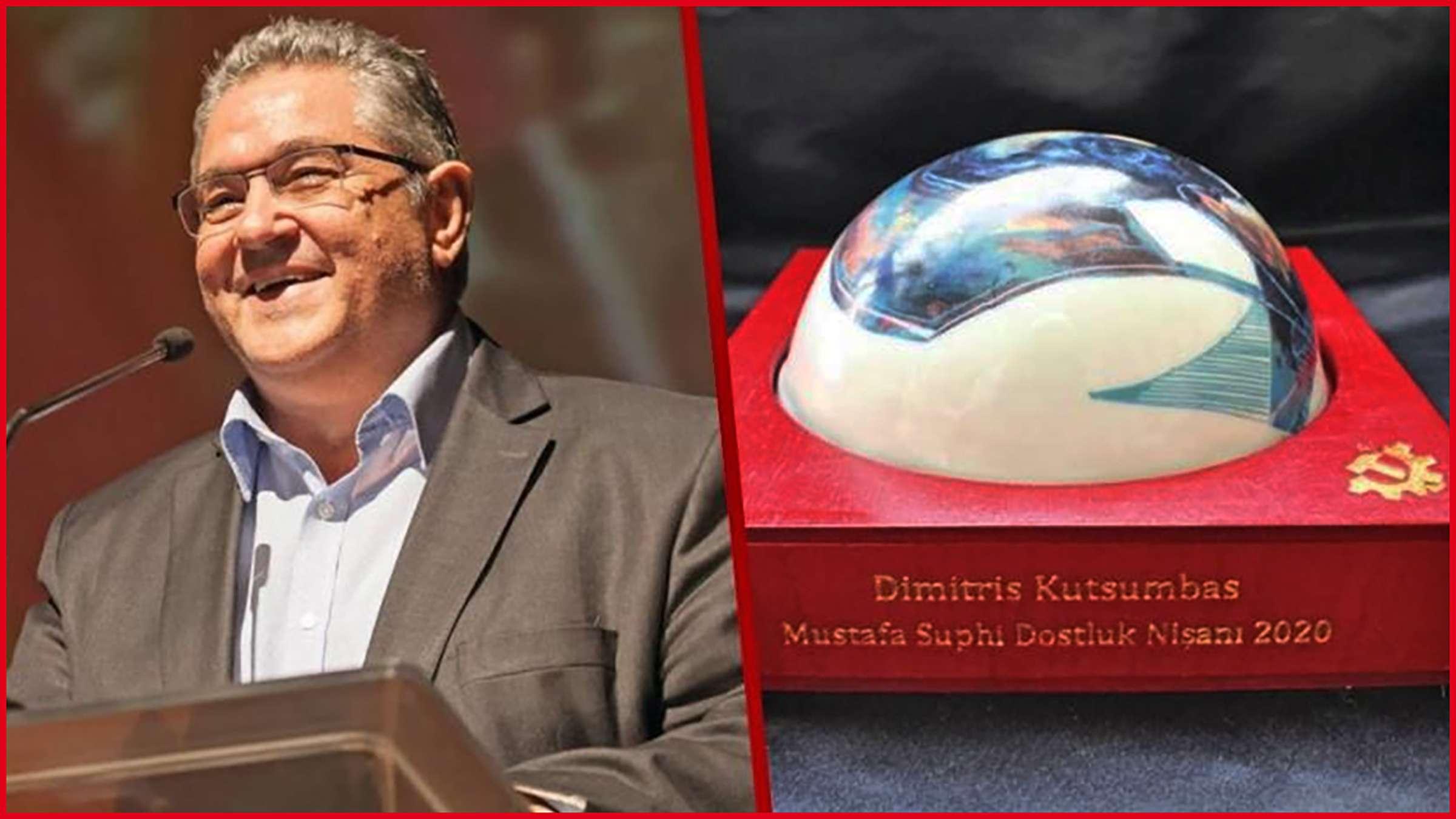 ΚΚ Τουρκίας απονέμει στον Δημήτρη Κουτσούμπα το Βραβείο Φιλίας «Μουσταφά Σουφί»