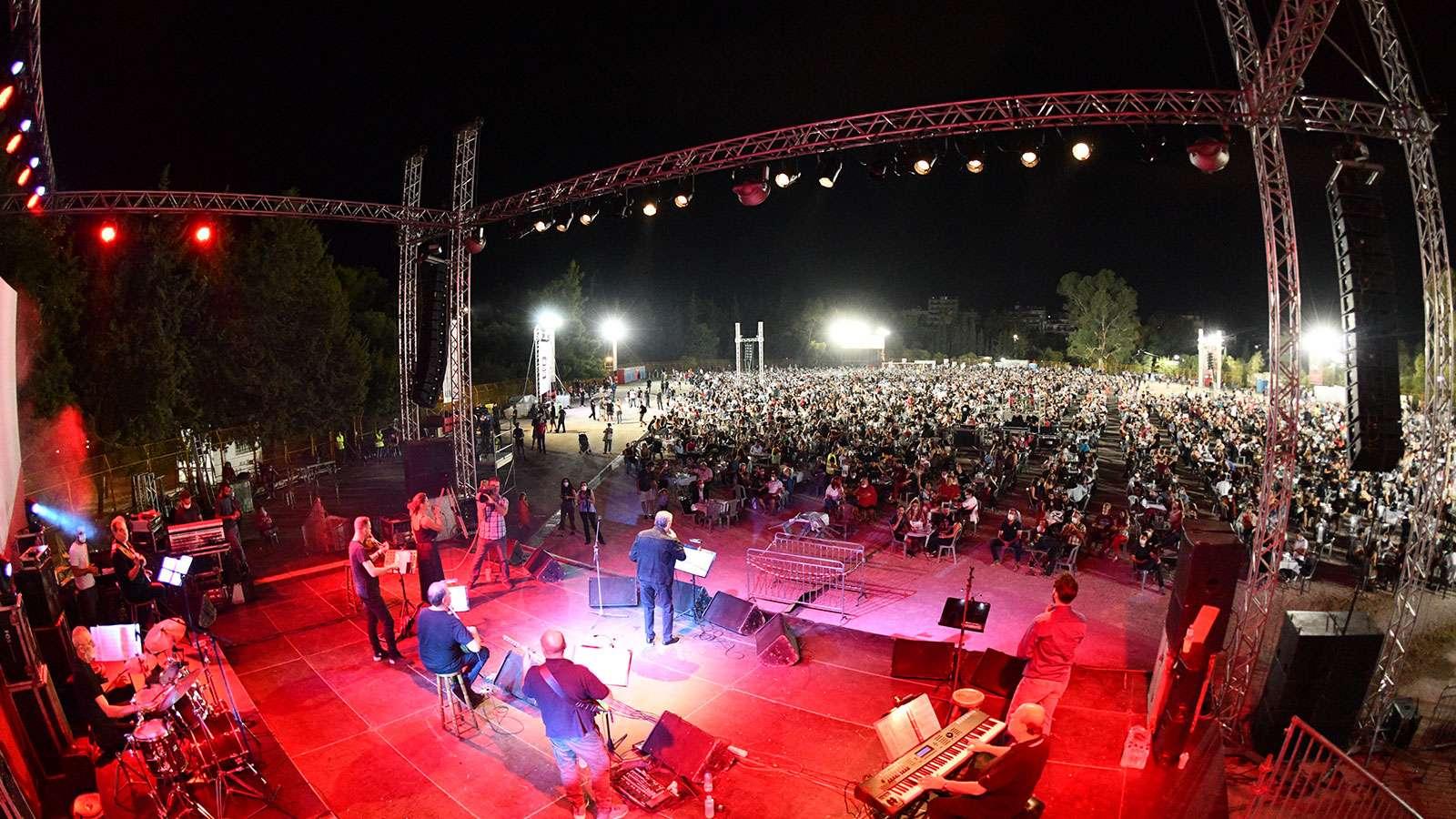 Μαργαρίτης 46ο Φεστιβάλ ΚΝΕ - «Οδηγητή», Πανεπιστημιούπολη Ζωγράφου