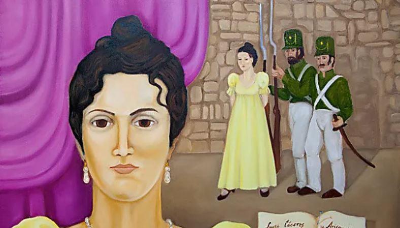 Luisa Cáceres de Arismendi 1
