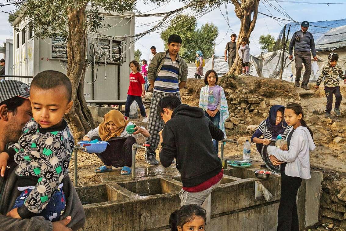 Prosfyges Πρόσφυγες Μόρια Moria