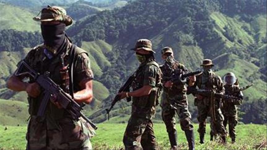 El escenario de la violencia en Colombia