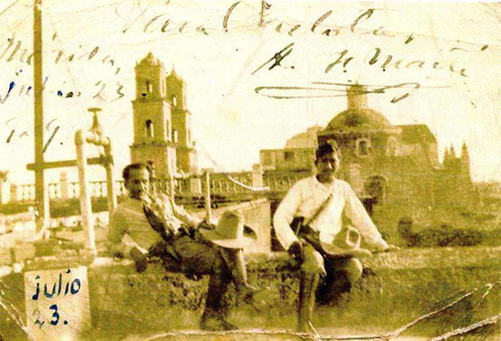 Farabundo Marti Augusto César Sandino δεξιά Μεξικό 1929