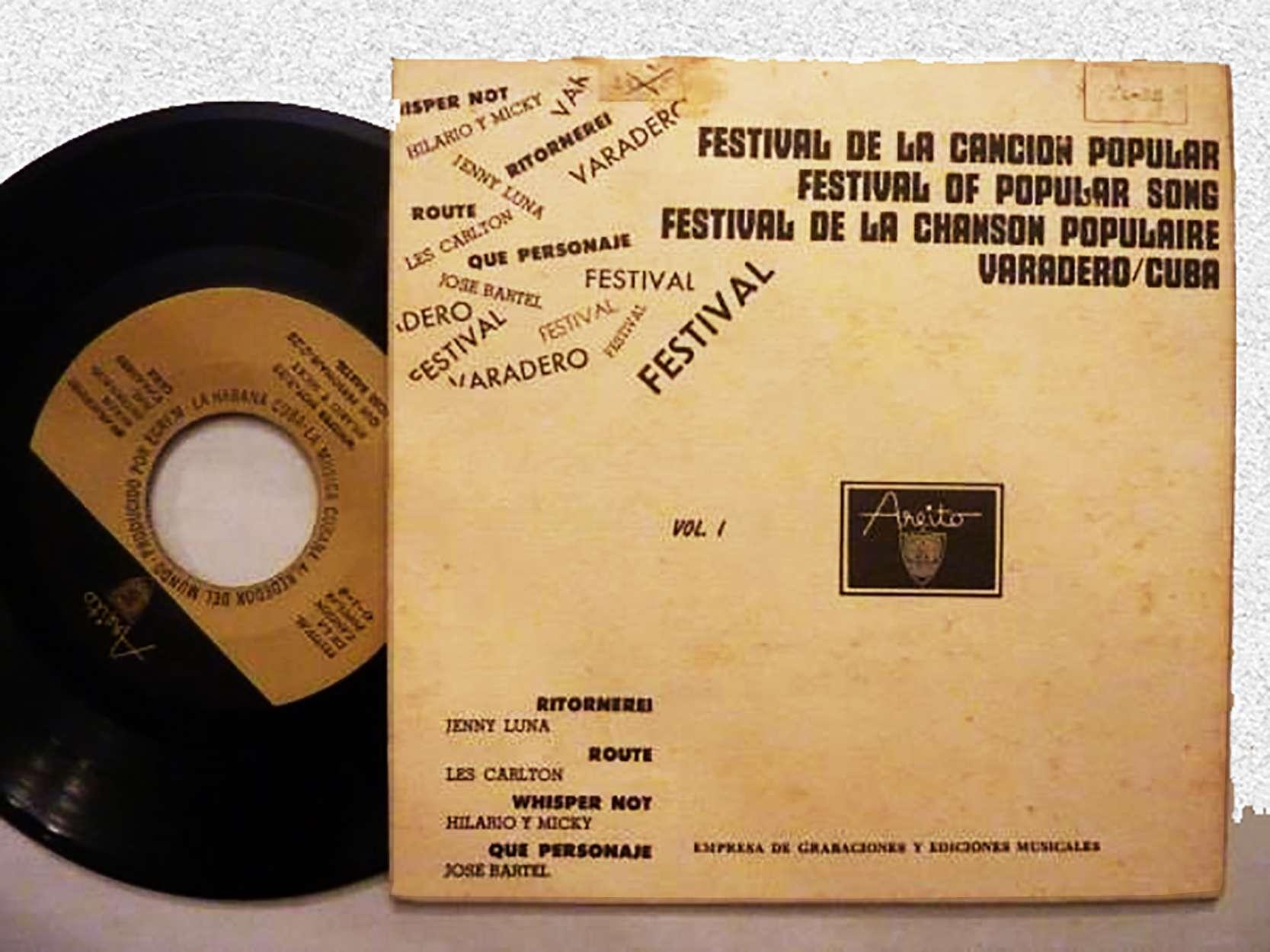 I Festival Internacional de la Canción Popular Varadero 67