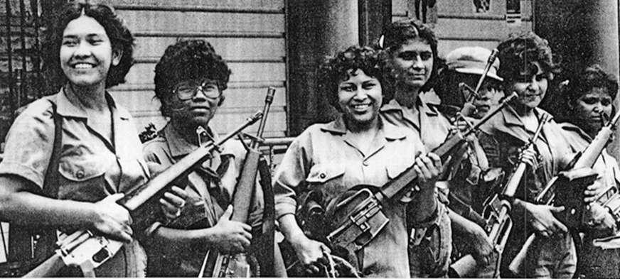 Madre hija hermana companera y camarada revolucionaria Salvadoreña