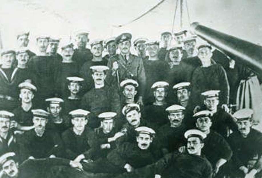 Έλληνες ναύτες Σεβαστούπολη 1919 εκστρατεία Αντάντ ενάντια στην Οχτωβριανή επανάσταση