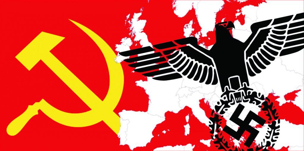 Μαύροςκόκκινος φασισμός communism nazism