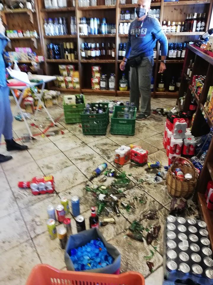 Καρλοβασι Πλατανος Σεισμός Σάμος
