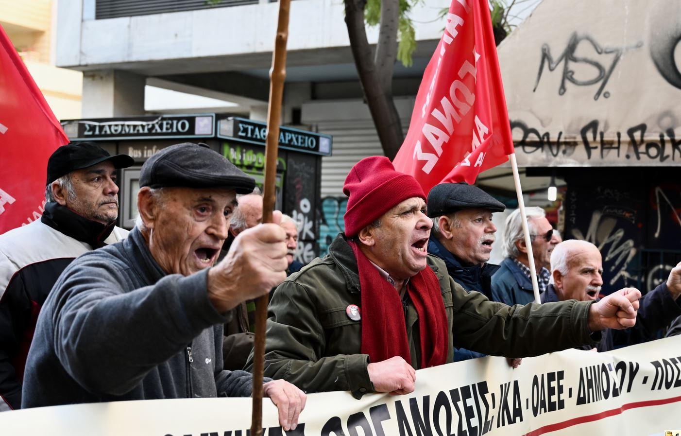Συνταξιούχοι όχι στο σχέδιο Πισσαρίδη